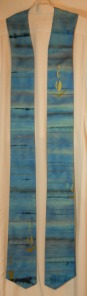 advent stoles. blue scarf 017