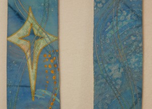 advent stoles. blue scarf 005