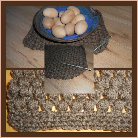 Hooking yarn